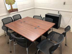 Image of the study room at Tazewell Library