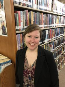 Image of Erica Hall, Library Director of Tazewell County Public Library