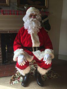 Image of Santa for the Flat Santa program