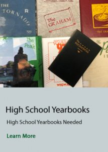 Select this link to learn about what yearbooks can be donated