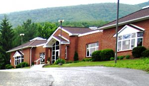 Image of the outside of the Bluefield Library