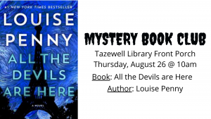 Mystery Book Club @ Tazewell Library @ Tazewell Library